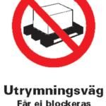4090-alu_skylt_Utrymningsväg-Får-Ej-Block-A4-alu_KlarOK